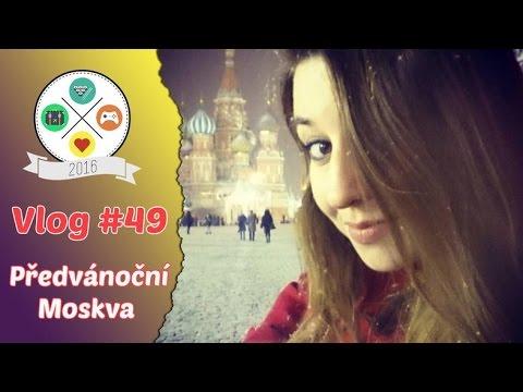 Vlog #49: Předvánoční Moskva