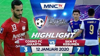 COSMO FC JAKARTA VS SKN FC KEBUMEN (FT: 3-7) - Highlights Liga Futsal Profesional 2020
