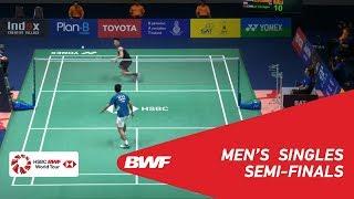 SF | MS | LIN Dan (CHN) [1] vs LU Guangzu (CHN) [8] | BWF 2019