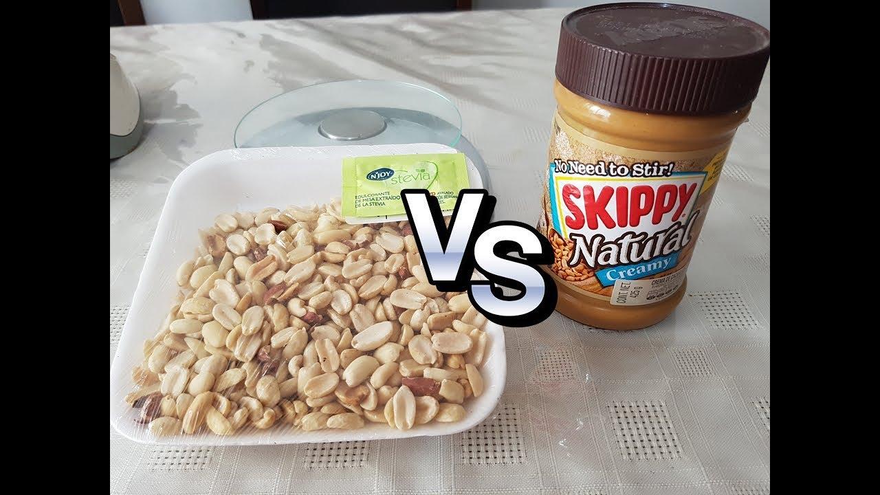 propiedades del cacahuate natural
