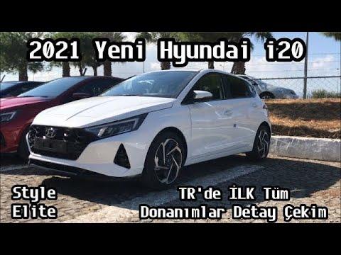 Yeni Hyundai i20 Türkiye'de İLK Tüm Donanımlar ve En Detaylı Çekim | 2021 Hyundai i20 İnceleme