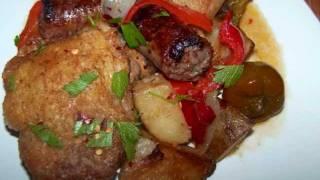 Chicken Scarpariello - One Pot Chicken And Sausage Skillet