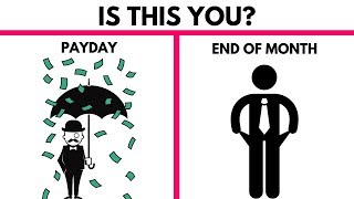 9 Ways to Be Good With Money - Why You Are Always Broke