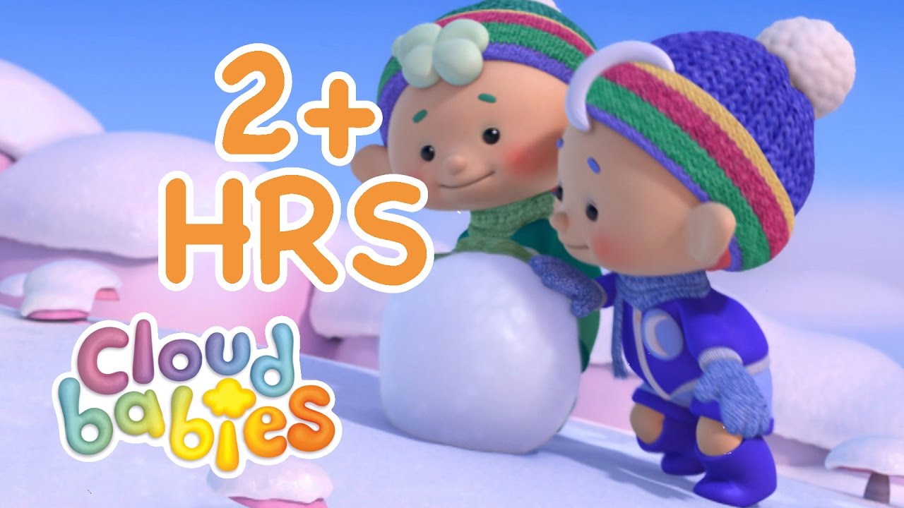 Cloudbabies   Wild Weather 2 Hour Compilation!   Cloudbabies Cartoon   Cute Cartoon for Kids