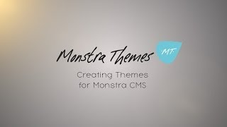 Creating Theme for Monstra Cms