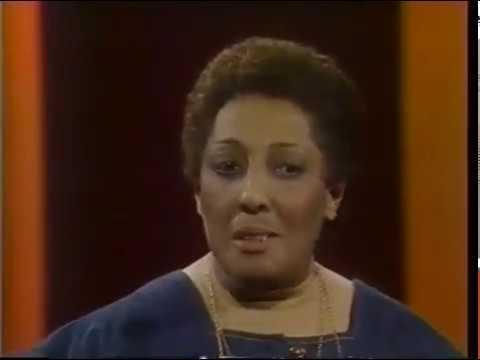 Carmen McRae--Hugh Downs, 1978 TV, Send in the Clowns