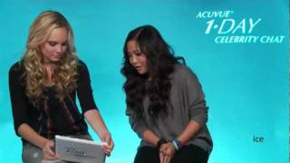 ACUVUE® 1•DAY Celebrity Chat with Charice on Sep. 6, 2011