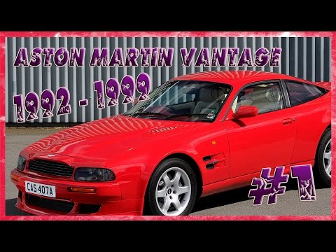 Aston Martin Vantage 1992 1999 Описание.