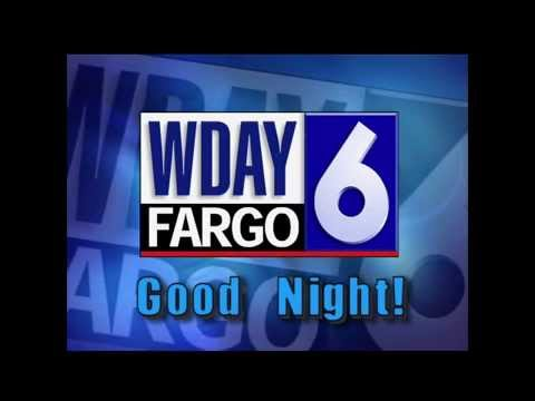 WDAY-TV, Fargo, ND, Sign Off, 3:05 am, March 21, 2015