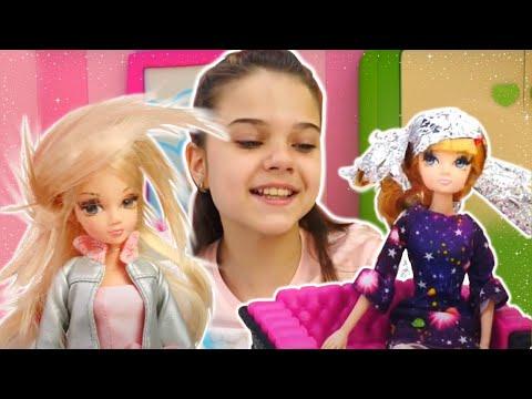 Барби на показе мод - Делаем прически куклам Соня Роуз. Видео для девочек