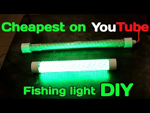 LED Fishing Light DIY