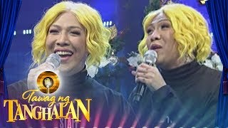 Tawag ng Tanghalan: Vice imitates the voice of Karen Carpenter