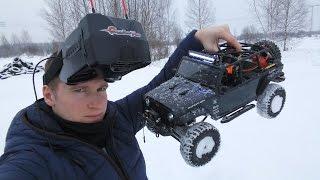Rc Новичок №5 ... Гоняем За Рулем Радиоуправляемого Автомобиля В Видеошлеме. Fpv Rc Car