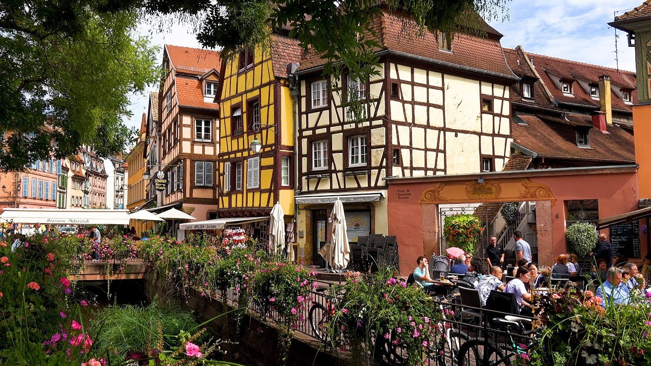 Colmar, Alsace, France in 4K Ultra HD
