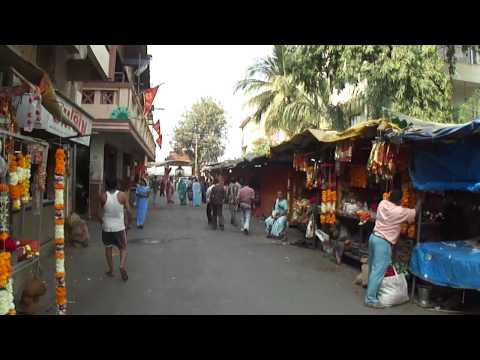 Walking through Ambaji, Surat, Gujarat, India; 25th January 2012