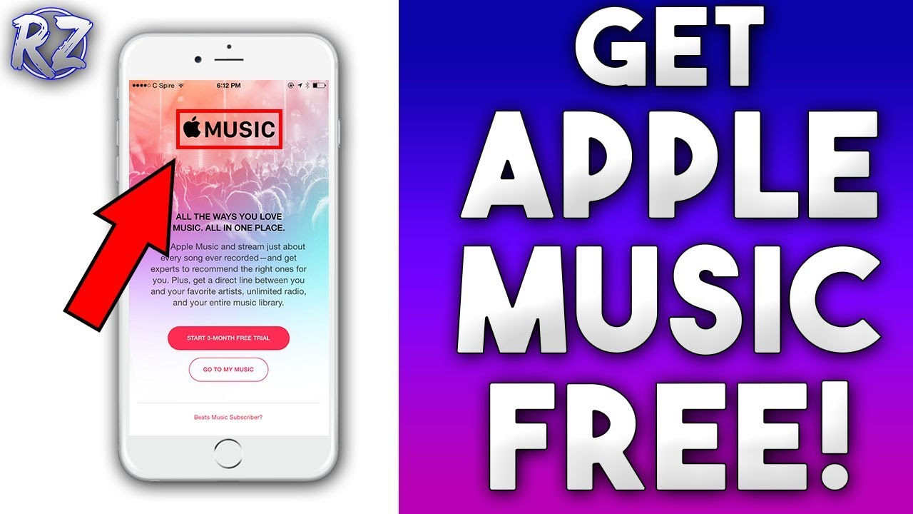 How to get Apple Music for free! NO JAILBREAK REQUIRED (iPhone, iPad, iPod)