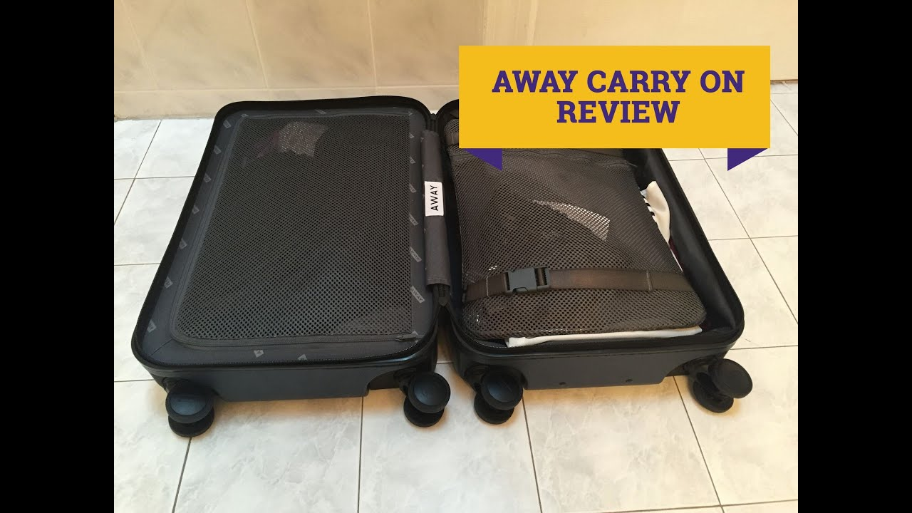 Away Luggage Review - YouTube