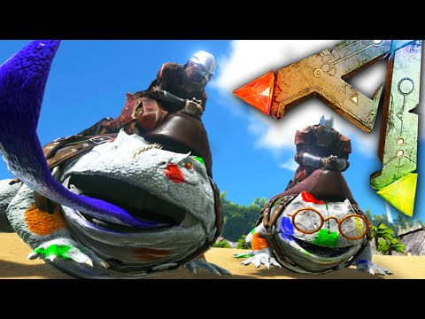 Ark Survival Evolved Ep22 - POLKA-DOT FROGS! - Beezlebufo Taming, Swamp Biome Fun Gameplay