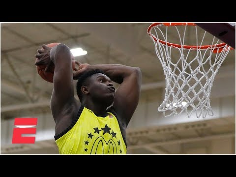Zion Williamson dominates high school dunk contest | Powerade Jam Fest