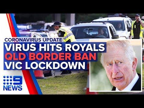 Coronavirus: Australian deaths, Prince Charles positive | Nine News Australia