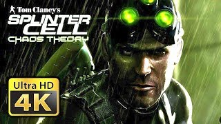 Old Games in 4k Splinter Cell Chaos Theory