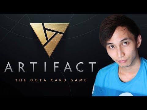 Artifact: The Dota Card Game - First Gameplay by Singsing