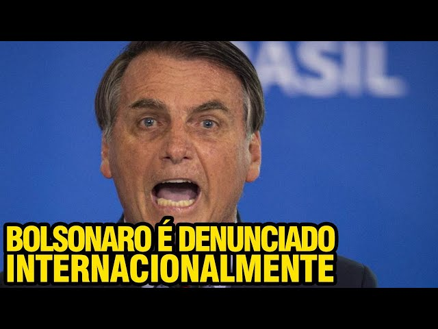 URGENTE!! BOLSONARO É DENUNCIADO EM HAIA POR CRIMES CONTRA A HUMANIDADE