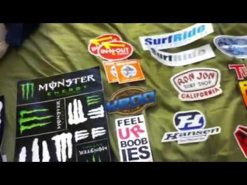 Oakley Snowboard Stickers