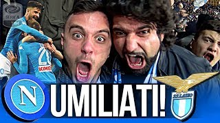 NAPOLI 4-1 LAZIO | UMILIATI!!! LIVE REACTION GOL CURVA B HD