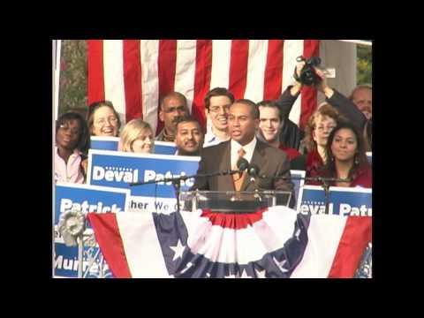 "Excerpt: Gov. Deval Patrick's ""Just Words"" Speech Boston Common 2006"
