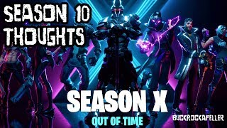 Fortnite Season 10 BuckRockafeller's thoughts (Gameplay)