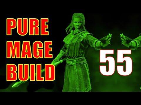Skyrim Pure Mage Walkthrough NO WEAPONS NO ARMOR Part 55 - Mzulft [2/2] thumbnail