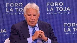 "Felipe González: ""No podemos tener órganos constitucionales varados"""