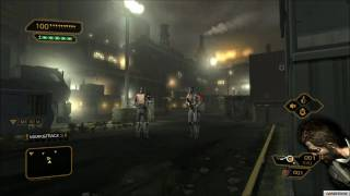 Deus Ex: Human Revolution - Stealth, Action PS3 Gameplay TRUE-1080P QUALITY