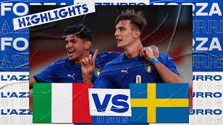 Италия U-21  1-1  Швеция U-21 видео