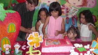 Aniversario da Luana 8 anos