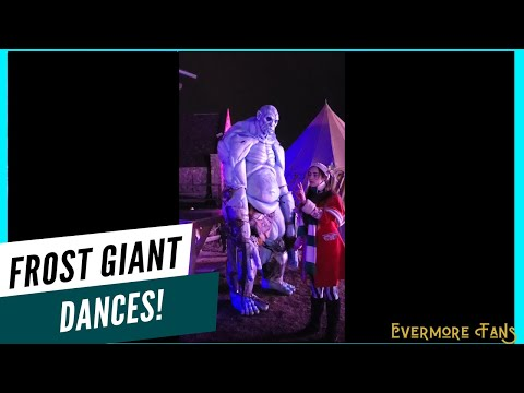 Frost Giant: His Plan, His Dance, His... Hair? - Evermore Park