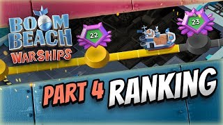 Boom Beach Warships: Ranking Up Break Down!