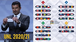 UEFA NATIONS LEAGUE 2020/21 Draw Result