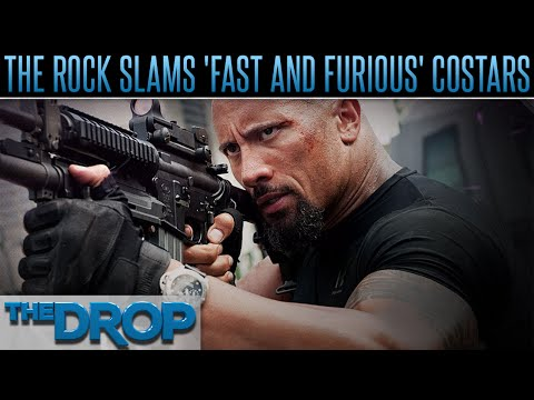 The Rock Blasts 'Fast 8' Co-Stars – The Drop Presented by ADD