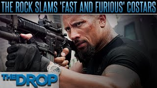 The Rock Blasts 'Fast 8' Co-Stars - The Drop Presented by ADD
