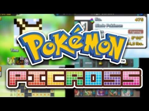 All pokemon picross mural tiles images pokemon images for Pokemon picross mural 02