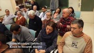Jornada informativa #EDUSI con tejido asociativo del Distrito II de Alcalá