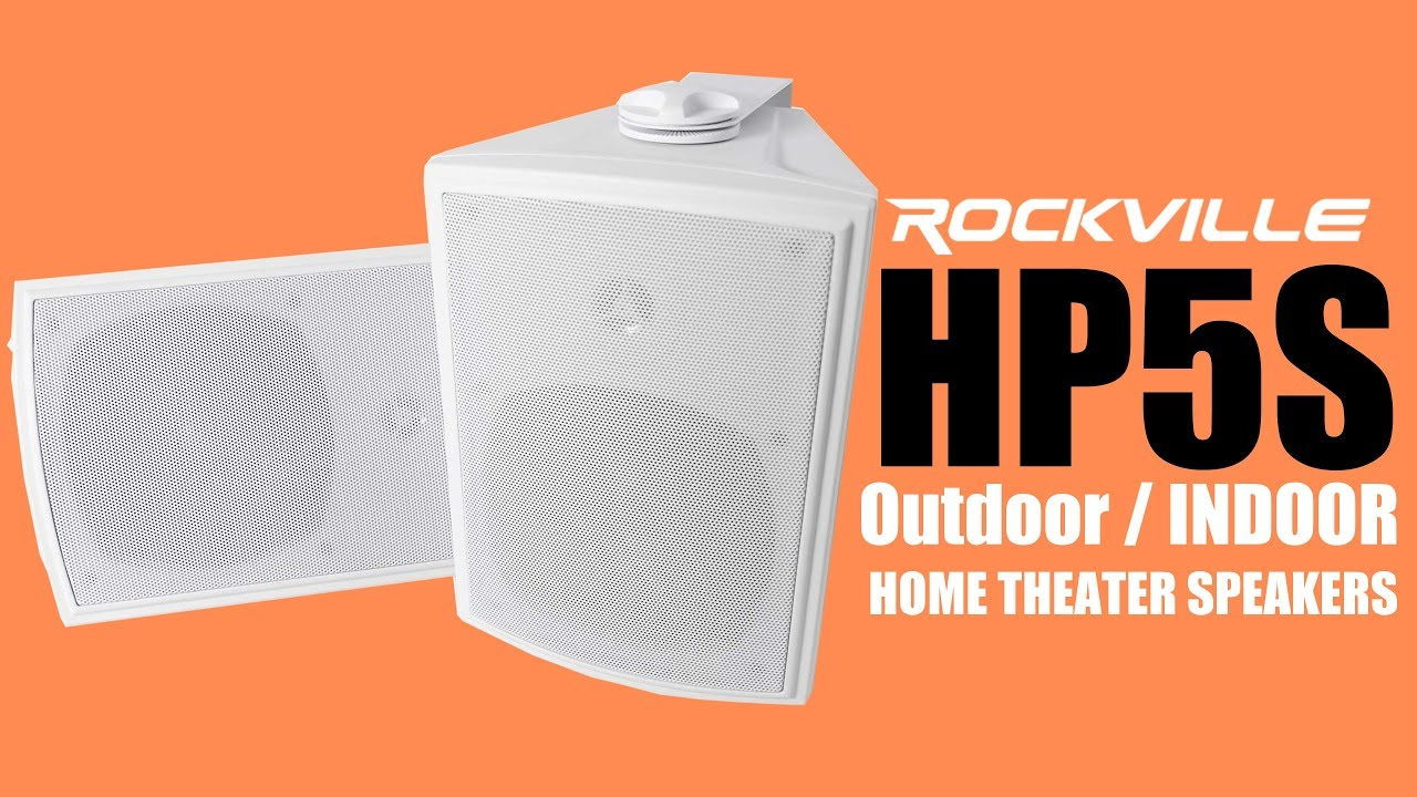 The Rockville HP5S is a LOUD, Water Resistant, and versatile ...