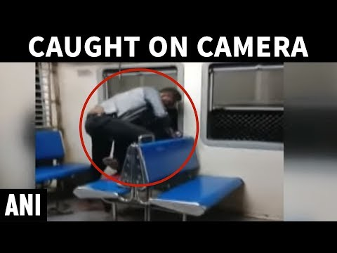 Caught on cam Woman molested onboard Mumbai's local