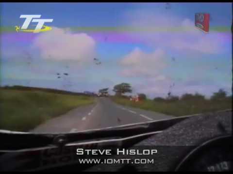 Steve Hislop   On board