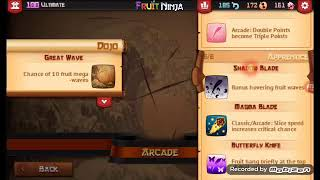 Fruit Ninja Classic All Blades 2018