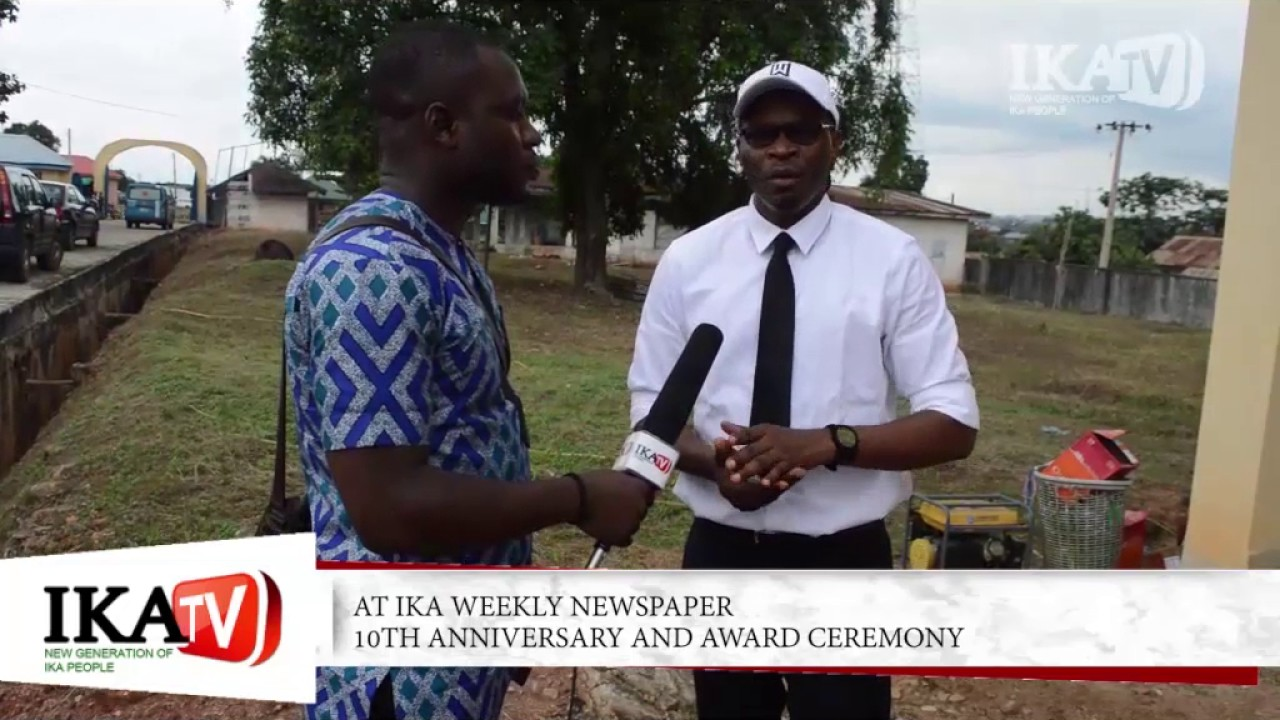 Interview with Barr.Eugene Uzum at IKA Weekly Newspaper 20th Anniversary