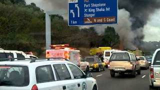 Burning Bus - N3 Durban
