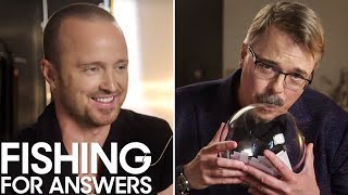 Vince Gilligan amp Aaron Paul 39El Camino A Breaking Bad Movie39 Bryan Cranston Pranks amp More  THR